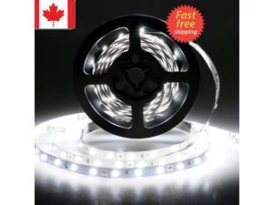 5m 12V Volt Bright White Led Light Strip waterproof 3528 300 LED For Car Vehicle