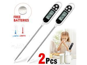 Digital Food Thermometer Probe Instant Read for Kitchen Smoker Grill BBQ Water