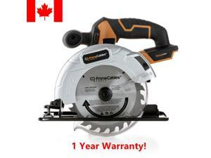 """® 6 ½"""" Cordless Circular Saw with 20V Lithium-ion Battery  Charger"""