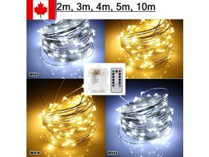 Warm White Christmas Party Fairy String Lights For Indoor Outdoor Wedding Party
