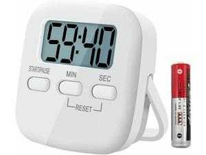 Kitchen Cooking Timer Magnetic Countdown Timer with Loud Alarm Stand Counter top