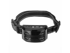 Dog Training Collar Reflective Anti Bark Collar Adjustable Barking Waterproof
