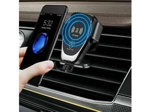 Wireless Car Charger Mount Air Vent Fast Charger 10W Compble for iPhone S9