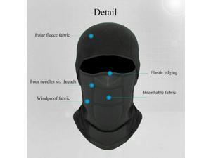 Face Mask Cycling Windproof Outdoor Riding Winter Shield Ski Sport Warm Neck