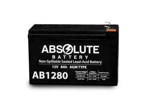 NEW 12V 8AH SLA Battery Replaces Samson Expedition XP106 Portable PA System