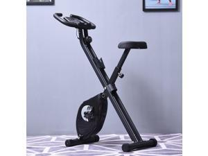 Indoor Magnetic Upright Exercise Bike with Tablet/Phone Holder