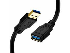 USB 3.0 Extension Cable High Speed Extender Cord Type A Male to A Female 1/1.5M