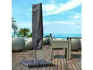Clearance Sale Large Umbrella Cover Garden Parasol Protector Weather Resistant