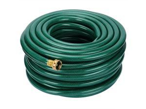 Durable Expandable Garden Hose Brass End Double Latex Core Extra Strength Fabric