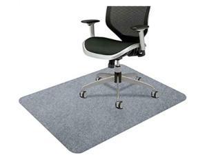 Gray Non-Slip Low-Pile Floor/Chair Mat, 1200900mm For hardwood floor tile floor