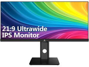 "Z-EDGE U29IA 29"" Ultrawide 2560x1080 WFHD 21:9 Aspect Ratio 100Hz Refresh Rate 4ms MPRT IPS Monitor, HDMIx2+DP,  Built-in Speakers"