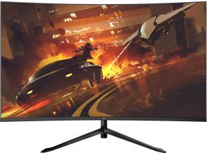 """Z-EDGE UG32F 32"""" 1080P Full HD 1920 x 1080, 200 Hz, 6.5ms Curved Gaming Monitor, 300cd/m2, FreeSync (Adaptive Sync), HDMI x2+DP x1, HDR, 178° View Angle, Built in Speakers, With RGB Breathing Light"""