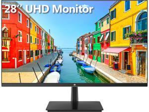 Z-EDGE U28I4K 28 inch Ultra HD 4K IPS Monitor, UHD 3840 x 2160, 300 cd/m2, HDR, 4ms, 60Hz, FreeSync, HDMI+DisplayPort+Type-C+USB-B+2xUSB, Phone can be connected to this monitor by Typc-C Cable