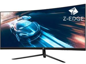 """Z-EDGE UG30 30"""" 21:9 Ultrawide WFHD 2560x1080 200Hz 1ms MPRT 1500R Curved Gaming Monitor, FreeSync, HDR10, HDMIx2+DP+USB, Built-in Speakers"""