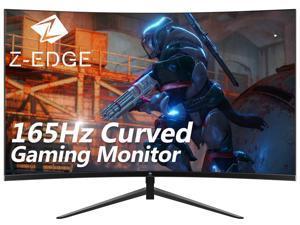"Z-EDGE UG24 24"" 1080P Full HD 165Hz 1ms FreeSync HDMI DisplayPort Eye Care with Ultra Low-Blue Light Ultra Slim Bezel Curved Gaming Monitor"