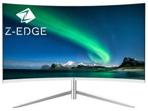 """Z-EDGE U24C 24"""" Full HD 1920x1080 75Hz 5ms Curved LED Monitor, Eye-Care Technology, 178° Wide View Angle, Built-in Speakers, VGA+HDMI"""