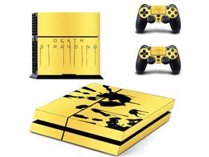 Death Stranding PS4 Stickers Play station 4 Skin PS 4 Sticker Decals Cover For PlayStation 4 PS4 Console and Controller Sticker