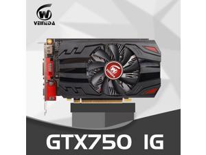 Graphics Card GTX 750 1GB 128Bit GDDR5 Video Cards for nVIDIA Geforce GTX750 Dvi VGA Card stronger than HD6450 2GB,650