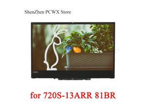 "for ideapad 720S-13ARR Lenovo 81BR 13.3"" Laptop LCD ASSEMBLIES IVO M133NWF4 R0 FHDI AG 5D10M42877 1920*1080 IPS 100% sRGB 30pins"