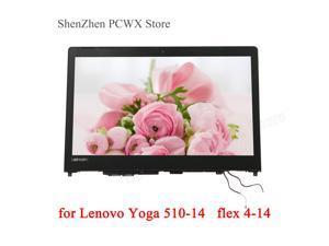 for Yoga 510-14ISK 80S7 510-14AST 80S9 Flex 4-1470 80SA 4-1435 80SC Lenovo IdeaPad 5D10L46000 LCD TOUCH ASSEMBLIES 1366*768 HD