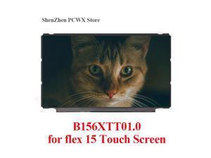 "B156XTT01.0 Touch Screen Matrix 15.6"" HD 1366*768 Slim LCD Display LED LVDS 40 pin Glossy Panel for Lenovo IdeaPad flex 15 20309"