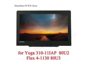 for ideapad Yoga 310-11IAP 80U2 Lenovo Flex 4-1130 80U3 LCD ASSEMBLIES HD 1366*768 TN 30pin NT116WHM-N42 NT116WHM-N21 5D10M36226