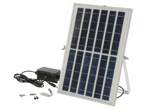 KERBL 10W 8.5V Solar Battery Set for Automatic Chicken Door:Make Your Automatic Chicken Door Completely Energy Self-Sufficient – No more Battery Changes