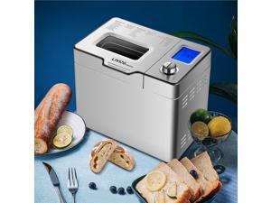 2LB 25-in-1 Programmable XL Bread Maker with Fruit Nut Dispenser Bread Machine