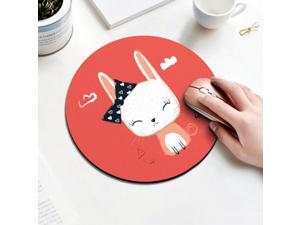 Mouse Pad with Stitched Edge Mouse Mat Waterproof Non-Slip Rubber Base