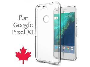 For Google Pixel XL Case - Crystal Clear Thin Soft TPU Transparent Back Cover