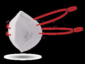 Magnum NIOSH N95 Respirator with Clasp Adjustable Headbands (10 Pack)