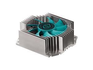 Iceberg Thermal IceFLOE T65 ITX Low Profile 3 Heat Pipe Extrusion Aluminum Heatsink HTPC CPU Cooler with 80mm Fan