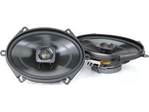 "Polk DB572 5x7"" 2-Way Car Boat Marine Coaxial Stereo Audio Speakers - Pair"