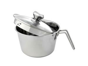 12-Cup Stainless Steel Pot with Colander Lid  Model 695-303