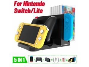 LED Charging Dock Stand Multifunctional Ston For  Switch/Lite Console