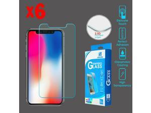 iPhone XR - Tempered Glass Screen Protector6-pack