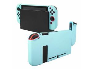 Dockable Case For  Switch Console  Joy-con Soft TPU Skin Cover Sky Blue