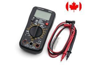 Digital Multimeter w/ DC/AC Voltage, DC Current, Diode, Continuity Test, cETLus