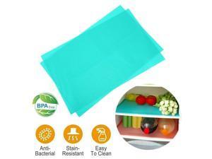 Refrigerator Pad Antibacterial Antifouling Mildew Moisture Absorption Mats Fridg