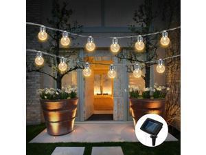 6M Solar Lamp Globe Waterproof LED Solar String Light Bulb Garden Decor Outdoor