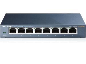 8-Port RJ45 10/100/1000Mbps Gigabit Ethernet Desktop Switch TL-SG108