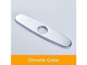 """9.75"""" Faucet Hole Cover Plate 304 Stainless Steel for Kitchen -  ™"""