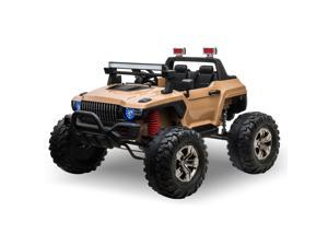 Ride On Car Off Road Truck 12 V Electric Battery with Adjustable Speed,