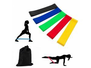 Resistance Bands Strap Power Workout Strength Exercise Fitness Gym Crossfit Yoga