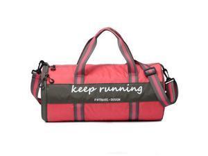 Large Capacity Waterproof Nylon Foldable Gym Bag