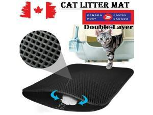 Topcovos Covos Cat Litter Mat, Double Layer Honeycomb Waterproof Urineproof Size