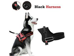 Pet Dog Harness Small To Large No Pull Vest Leash Set Heavy Duty Braces Clothes