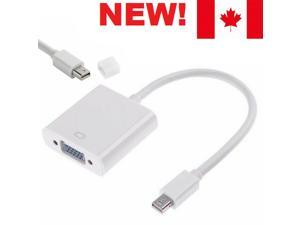 MINI DisplayPort to VGA Adapter MINI DP Display Port For MacBook Pro or laptop