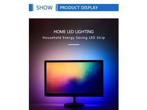 3M 5V   Light USB Powered RGB Multi Color TV Backlight Lighting + Remote