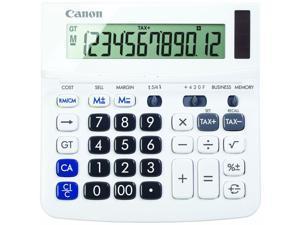 WS-220TSG 12-Digit  Desktop Calculator, Tax Calculon TAX +, TAX -